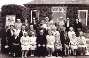 Womens Fellowship outing to Wannock Gardens  (Circa 1968)